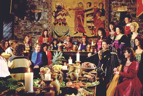 bunratty castle banquet