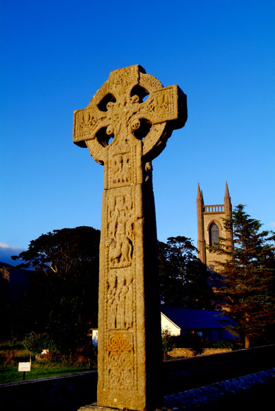 Celtic cross drumcliff