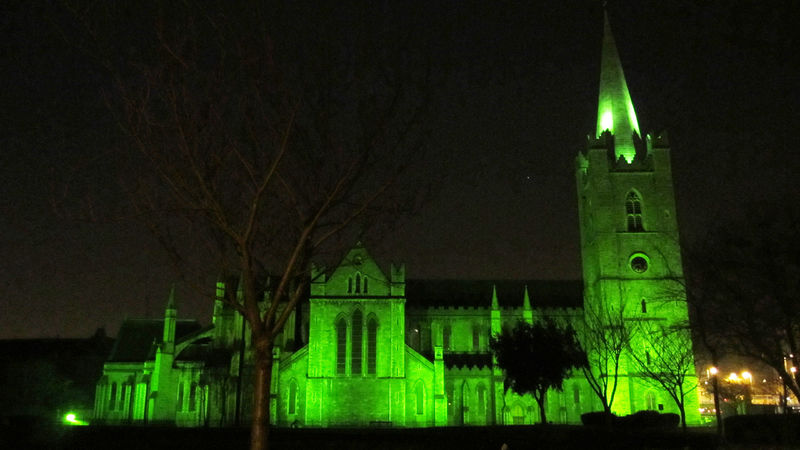 Green St Patricks Catherdral