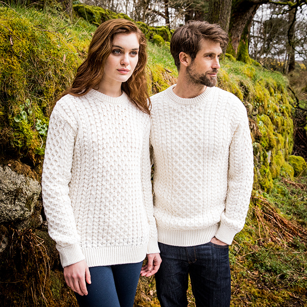 The Glandore Aran Sweater