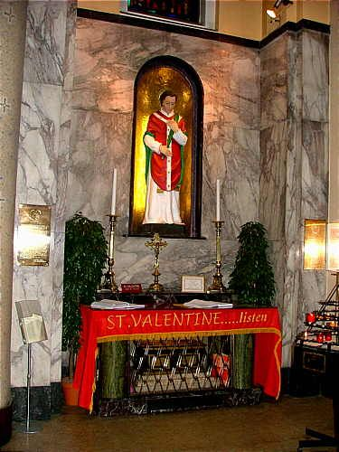 St Valentine Shrine