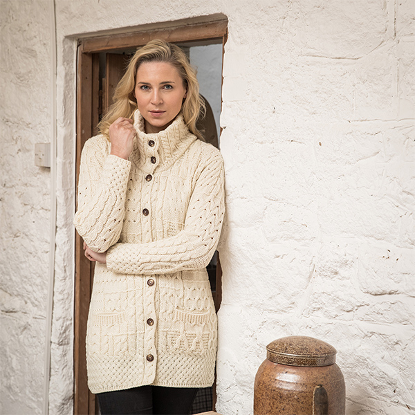 Derrynane Aran Coat