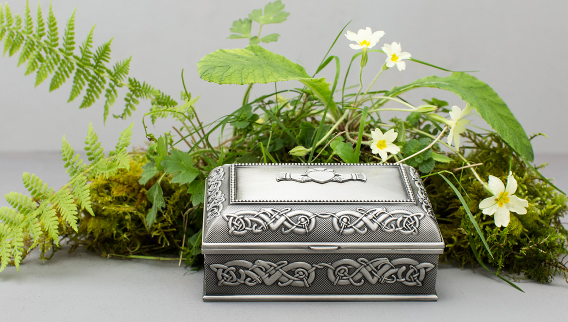 Claddagh jewelry box