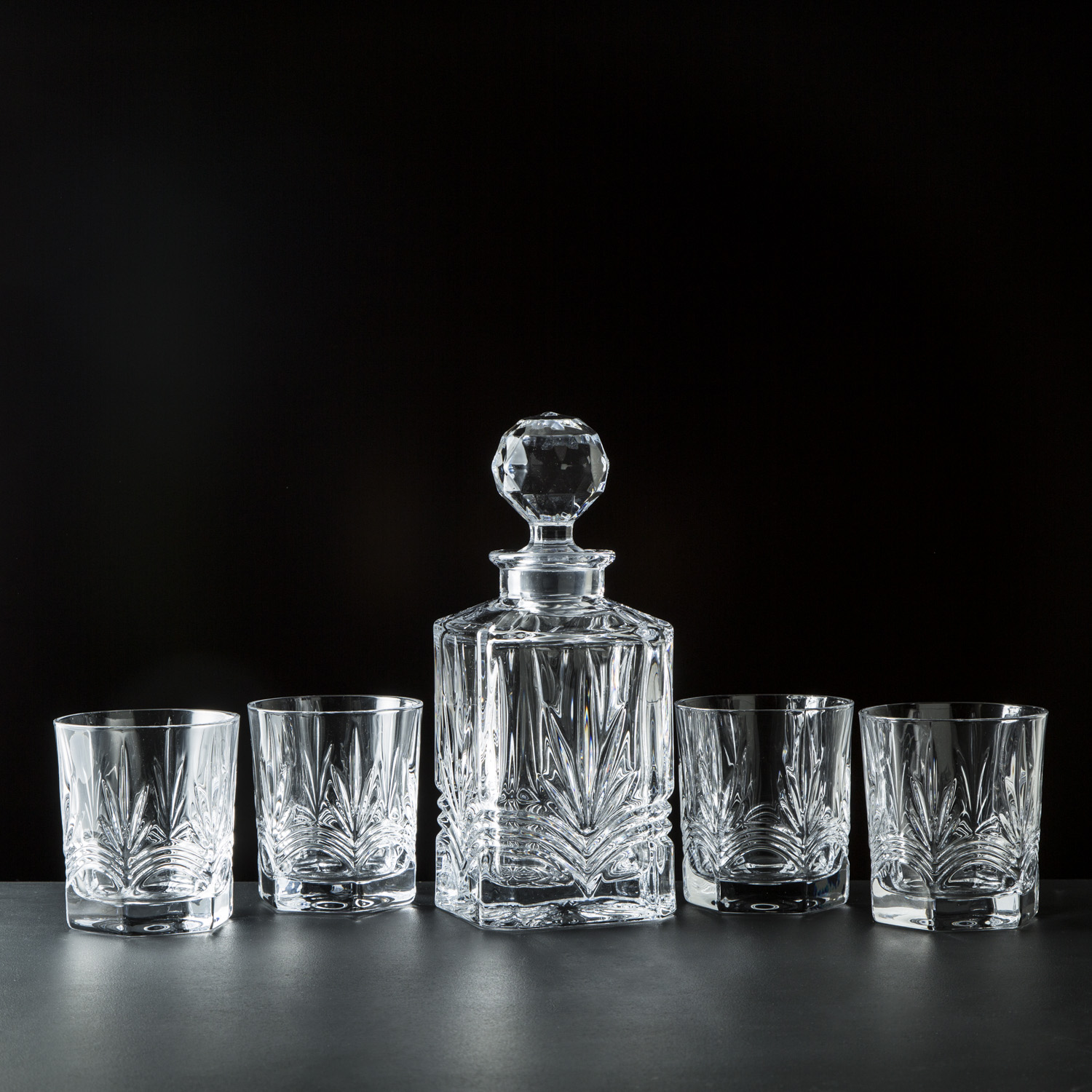 Galway Crystal decanter