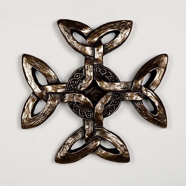 Celtic cross plaque