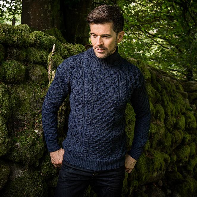 Glencar sweater for him