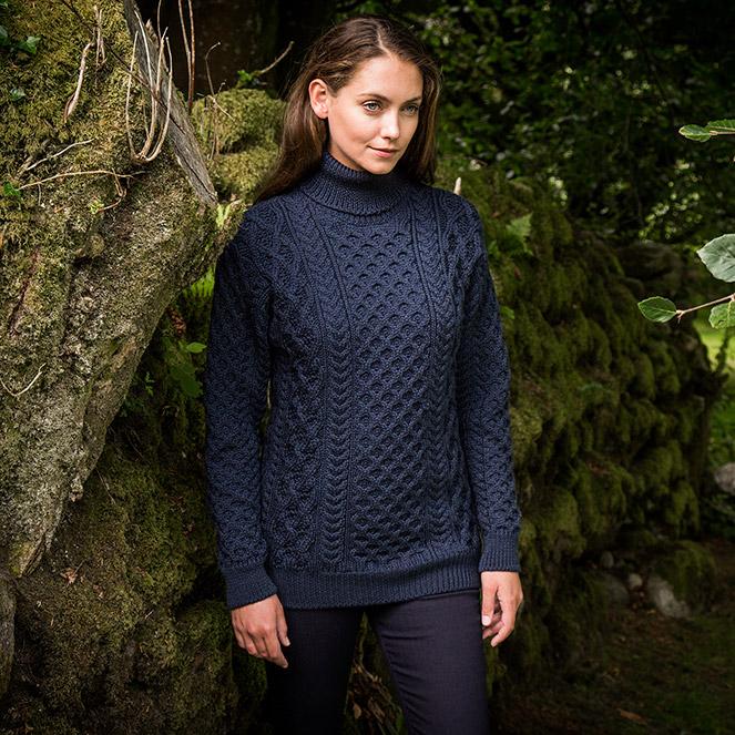 Glencar sweater for her