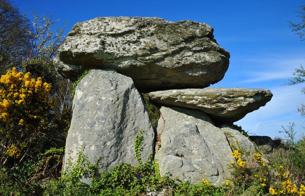Knockeen dolmen