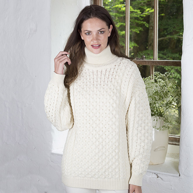 7199f71416a Fall-winter warmers. Lulu's Top Turtleneck Sweaters - The Irish Store