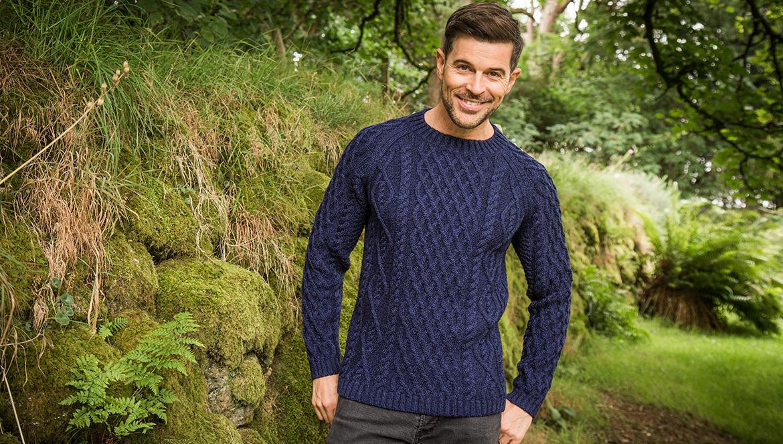Sherkin Aran sweater