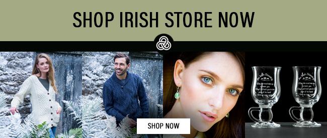 The Irish Store banner