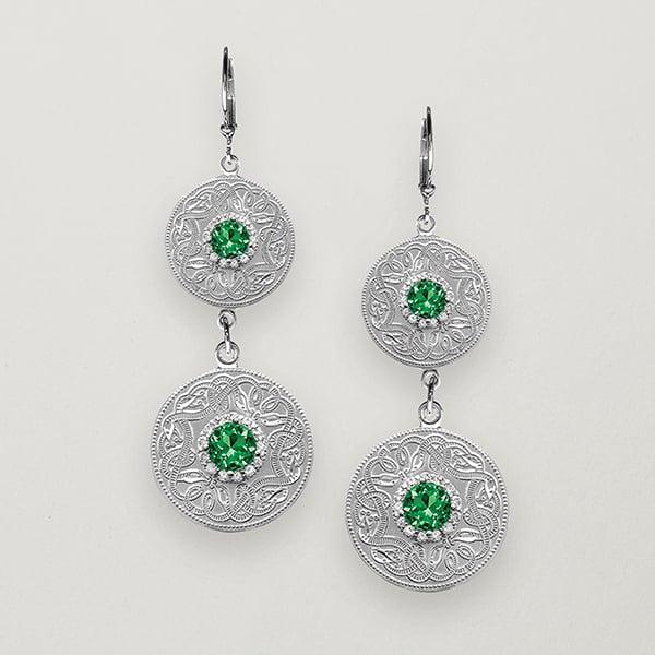 Celtic warrior earrings