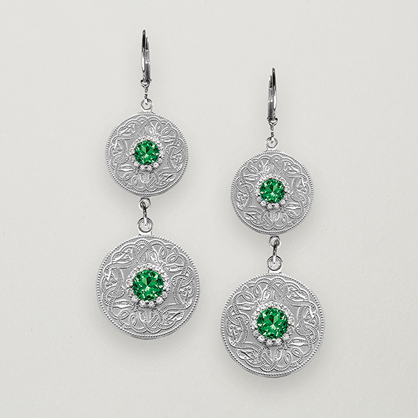 Celtic warrior earrings