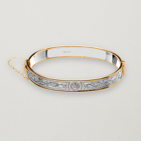 Celtic warrior bangle