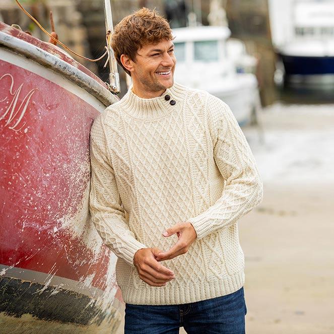 Glengarriff Aran sweater fall winter collection