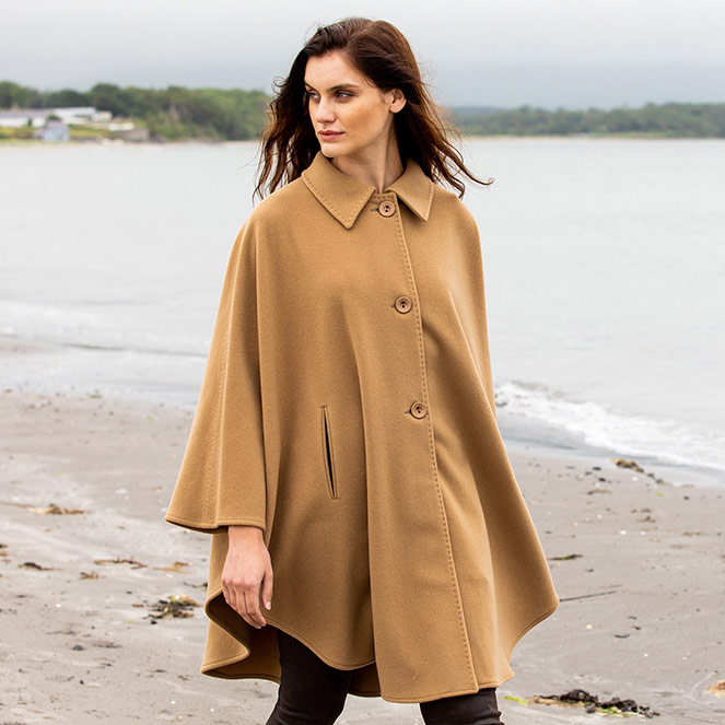 Camel cape fall winter collection