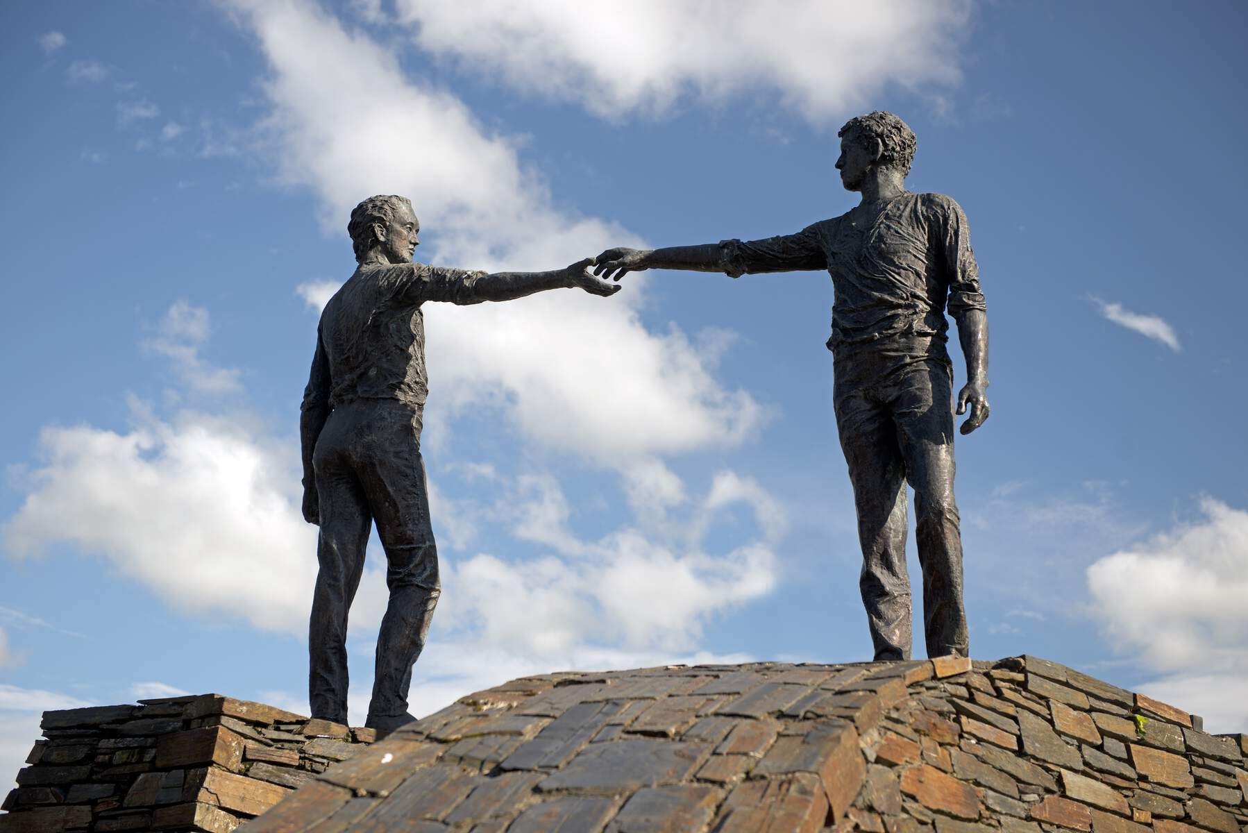 Hands Across the Divide Sculpture