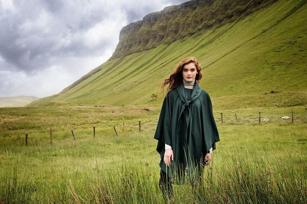 Wool & Cashmere cape