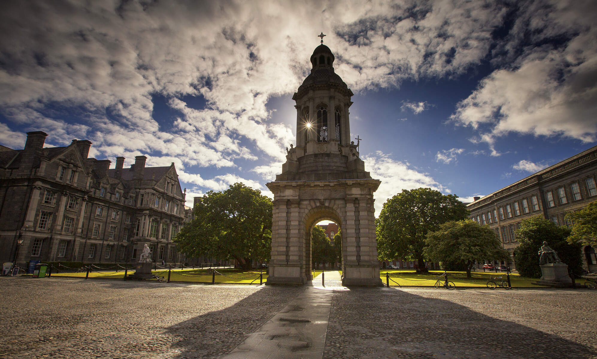 Trinity College Irish Movie Location