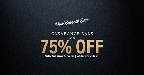 The Irish Store Mega Clearance Sale