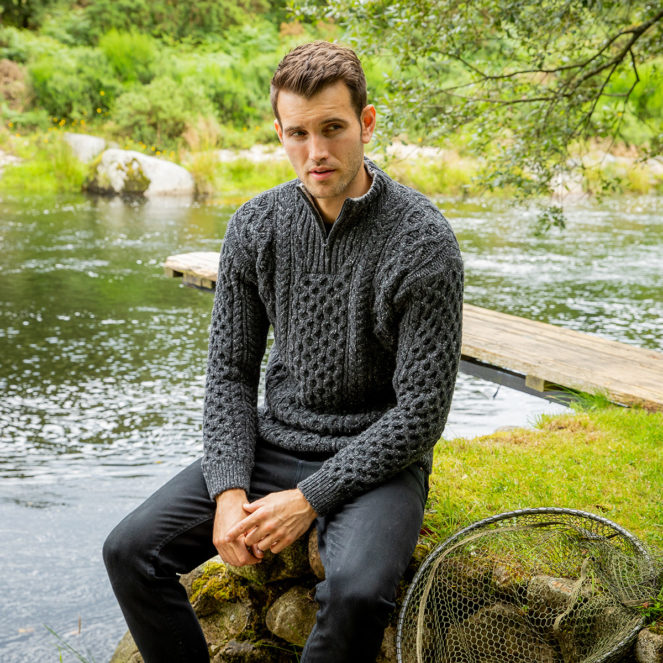 Winter Collection The Curragh Aran Sweater