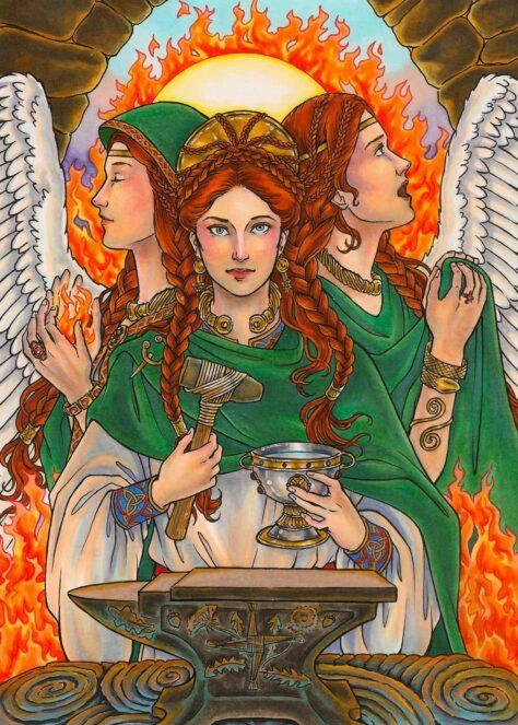 Brigid goddess