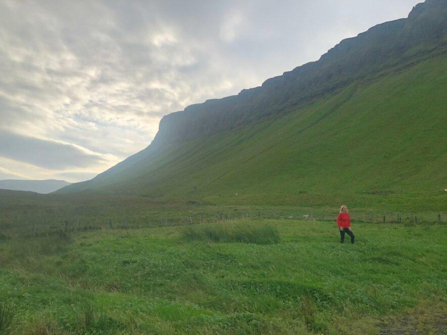 Walking Around Ireland Benbulben