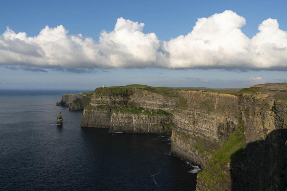 Walking Around Ireland. Cliffs of Moher