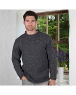 Donegal Curl Neck Sweater