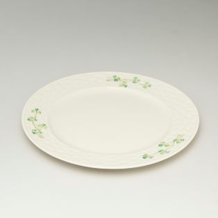 Belleek Shamrock Dinner Plate