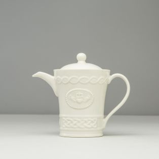 Belleek Claddagh Beverage Pot