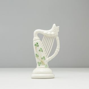 Belleek Irish Harp