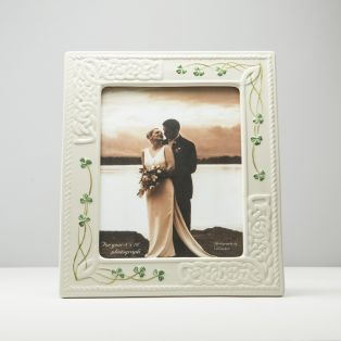 Belleek Irish Porcelain Tara Photo Frame