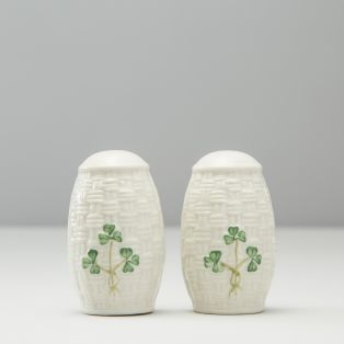 Belleek Salt & Pepper Set