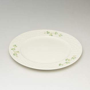 Belleek Shamrock Dinner Plate Set of 4