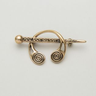 Celtic Irish Bronze Brooch