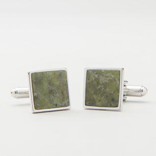 Connemara Marble Green Cufflinks