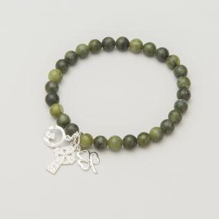 Connemara Marble Stretch Charm Bracelet