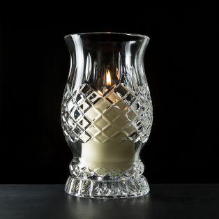 Crystal Trinity Knot Hurricane Lamp