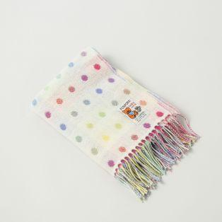 Foxford Multi Spot Baby Blanket