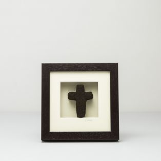 Irish Bog Framed Cross