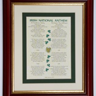 Irish National Anthem Framed Print