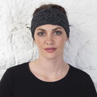 Merino Wool Aran Head Band
