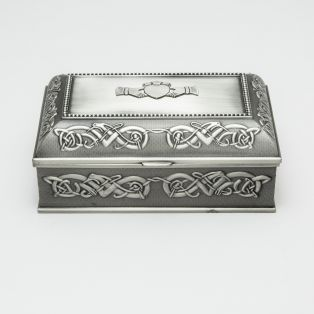 Mullingar Pewter Antique Irish Jewelry Box