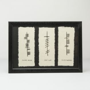 Ogham Love Health & Happiness Gift