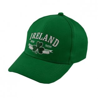 Traditional Kids Green Ireland Limited Edition Baseball Cap O/S
