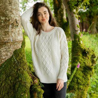 Anna Livia Aran Sweater