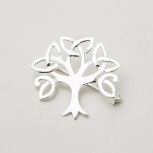 Trinity Tree of Life Brooch