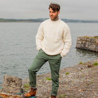 The Dooneen Hand Knit Aran Sweater