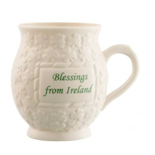 Belleek Blessing from Ireland mug